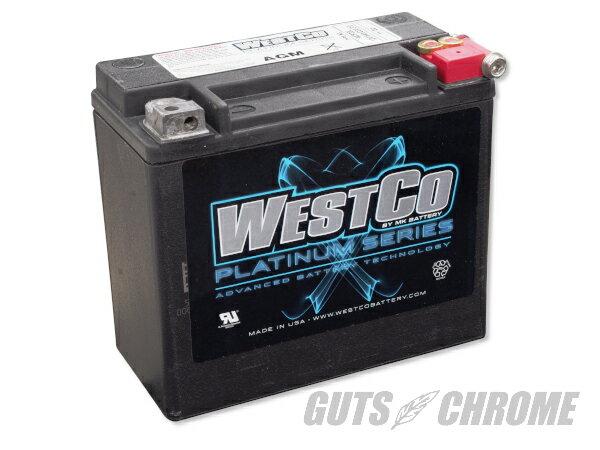 NA21_9800-4030 WESTCOバッテリー 97年以降XL/ダイナ/ソフテイル OEM 65989-97C