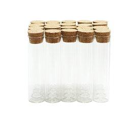 コルク 瓶 コルク ビン ガラス 外寸 22mm × 89mm 広口 タイプ 20本セットcra2290-20p