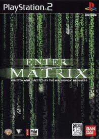 【中古】研磨済 追跡可 送料無料 PS2 ENTER THE MATRIX (マトリックス)