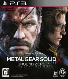 【中古】研磨済 追跡可 送料無料 PS3 メタルギア ソリッド V グラウンド・ゼロズ