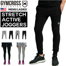 GYMCROSS (ジムクロス)ジョガーパンツ メンズ/レディース トレーニングウェア フィットネスウェア ヨガウェア スウェットパンツ コンプレッションウェア ジムウェアgc-004N