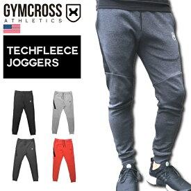 GYMCROSS (ジムクロス)トレーニング フィットネスウェア テックフリースジョガーパンツ テーパードフィット ストレッチ【メンズ】gc-065