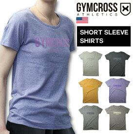 GYMCROSS ジムクロス 半袖Tシャツ フィットネスウェア ヨガウェア ジョギング ランニング レディース