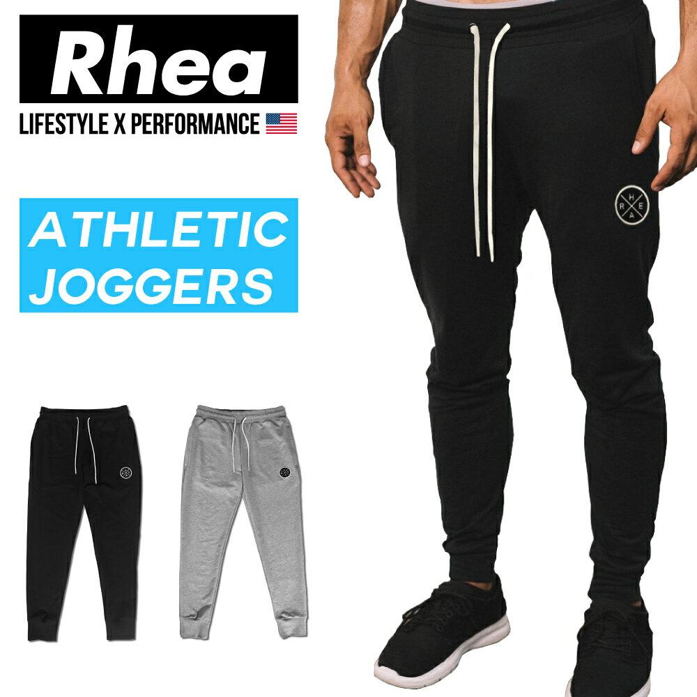 【送料無料】 Rhea (レアー) トレーニング フィットネスウェア ジョガーパンツ スウェット ストリートワークアウト ストレッチ【メンズ】rh-001
