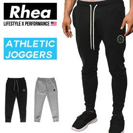 Rhea (レアー) トレーニング フィットネスウェア ジョガーパンツ スウェット ストリートワークアウト ストレッチ【メンズ】rh-001