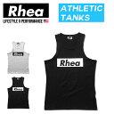 【送料無料】 Rhea(レアー) トレーニングウェア フィットネス ストリートワークアウト タンクトップ ストレッチ【メン…