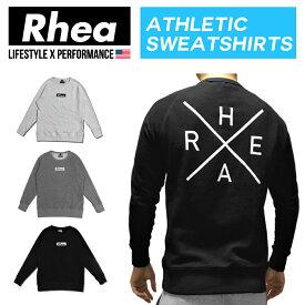 Rhea(レアー)トレーニングウェア フィットネス ストリートワークアウト スウェット 長袖【メンズ】rh-009