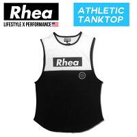 【送料無料】Rhea(レアー)トレーニングフィットネスウェアタンクトップストリートワークアウト【メンズ】rh-011