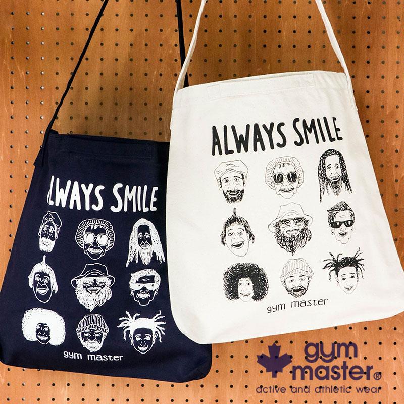 gym master(ジムマスター) G899396 ALWAYS SMILE 2WAYトートバッグ