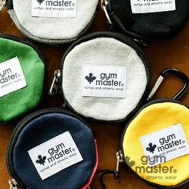 gym master(ジムマスター) G857368 スウェットまるいコインケース ミニ財布 小銭入れ サイフ お財布