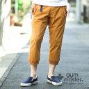 gym master(ジムマスター) G843392 ストレッチヘリンボーン クロップド リブパンツ |くるぶし丈