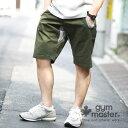 gym master(ジムマスター) G943393 ストレッチヘリンボーンショートパンツ |ハーフパンツ