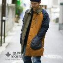 gym master(ジムマスター) G157686 ドロップポケット コート|メンズ|レディース|中綿|ロングコート