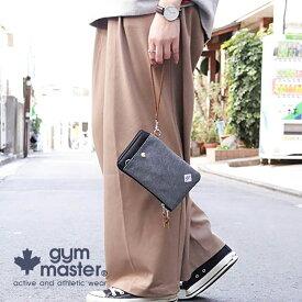 gym master(ジムマスター)G502395 スウェット2WAY スマホ ポーチ スマホ ケース コインケース ショルダー iPhone