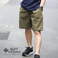 gymmaster(ジムマスター)公式Comfyナイロンショーツジムマスター|ナイロン|ストレッチ|ショートパンツ|短パン|半ズボン|メンズ|レディース|クレイジーカラー|撥水加工|G221611