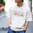 gym master(ジムマスター)公式BELIEVING ALL TEEtシャツ|半袖|メンズ|レディース|アウトドア|カラフル|綿100% 丸首 白 おしゃれ…
