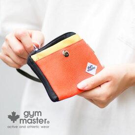 gym master(ジムマスター) G299671 スウェットキーコインケース ミニ財布 サイフ お財布 ポーチ キーケース 小銭入れ