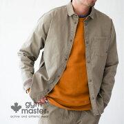 gymmaster(ジムマスター)公式「Begin」掲載ストレッチヘリンボーンシャツジャケットメンズ|レディース|ユニセックス|ジムマスター|ストレッチ|シャツ|シャケット|ショールカラー|ライトアウター|コーデ|g333628