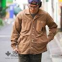 gym master(ジムマスター) 公式 ピグメント裏毛シャツジャケットメンズ レディース ユニセックス ジムマスター  シャツ ジャケット カバーオール ライトアウター g318615