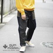 gymmaster(ジムマスター)公式ストレッチピケアンクルパンツピケ|ストレッチ|メンズ|レディース|ユニセックス|コットン|秋冬|アンクル丈|ワイドサイズ|ワーク|古着風|作業着|海外発送|G357620