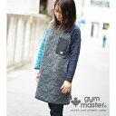 gym master(ジムマスター) 公式メープルリーフキルトワンピースレディース|ワンピ|ドレス|スカート|中綿|秋冬|ウォーム|温かい|防寒|アウターカジュアル かっこいい おしゃれ 黒 グレー ピンク 緑 紺 G533607