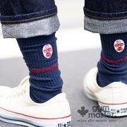 gymmaster(ジムマスター)ワンポイント刺繍クルーソックス靴下|ソックス|ユニセックス|覆面レスラー|プロレス|ロゴ入り|ギフト|プレゼント|海外発送|G566634