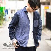 gymmaster(ジムマスター)公式2WAYショールカラーロングスリーブシャツシャツ|カーディガン|メンズ|メンズ|レディース|無地|長袖|トップス|カジュアル|柔らか|コットン|G399659