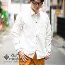 gym master(ジムマスター) カラフルスナップボタン 2WAYシャツ  メンズ レディース シャツ 袖リブ コットン ユニ…