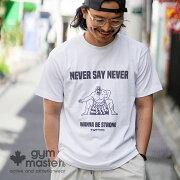 gymmaster(ジムマスター)公式NEVERSAYNEVERTEE|メンズ|レディース|ユニセックス|レスラー|覆面|アウトドア|部屋着|トップス|春夏|カジュアル|相撲|T恤衫|G480674