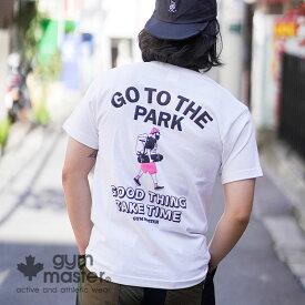 gym master(ジムマスター)公式GO TO THE PARK TEE『Begin』『2nd』掲載|半袖|メンズ|レディース|ユニセックス|T恤衫|海外発送|G492692