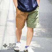 gymmaster(ジムマスター)公式firmナイロンショーツメンズ|レディース|カジュアル|コットン|ナイロン|64クロス|撥水|速乾|アウトドア|ショーツ|短パン|G418695