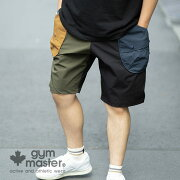 gymmaster(ジムマスター)公式『2nd』『GOOUT』掲載ComfyNylonナイロンドロップポケットショーツメンズ|レディース|ユニセックス|ジムマスター|ナイロン|伸縮|ストレッチ|ショートパンツ|短パン|アウトドア|G421633