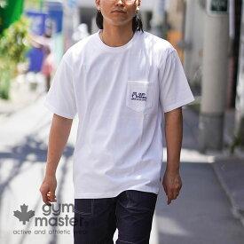 gym master(ジムマスター)公式ロゴプリントP付きTee消臭 エコ 防臭加工 半袖 肌に優しい tシャツ メンズ レディース カジュアル ストリート 綿100% 短袖 海外発送 G433677