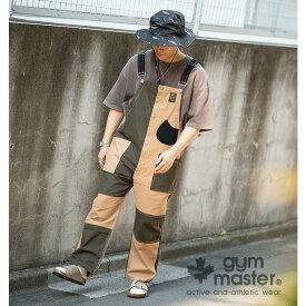 gym master(ジムマスター) 公式ストレッチピケオーバーオールストレッチ|ピケ|オーバーオール |メンズ|レディース|コットン|オールインワン|サロペット|ワーク|パンツ|秋冬|大きいサイズ|クレージー|配色|G157652
