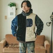 gymmaster(ジムマスター)G802365リバーシブルボアxタスロンフードJKT