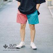 gymmaster(ジムマスター)公式Comfyナイロンショーツジムマスター|ナイロン|ショートパンツ|短パン|半ズボンメンズレディース膝上スポーツ大きいサイズ撥水加工ストレッチ伸縮無地夏ブランドカジュアルG221611A