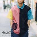 gym master(ジムマスター) 公式 Comfy Nylonメッシュポケットシャツメンズ レディース ユニセックス ジムマスター ナイロン シャ…