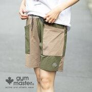gymmaster(ジムマスター)公式ストレッチドライショーツ|ハーフパンツ短パン半ズボン|メンズ|レディース|ユニセックス|スポーティー|UV効果|速乾||ジョガーパンツ|黒紺海外発送|G633639