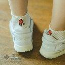 gym master(ジムマスター) ハッピー刺繍ラインソックス靴下|ショートソックス|メンズ|レディース|防蚊|蚊よけ|虫よけ|抗菌消臭|防臭…