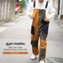 gym master(ジムマスター) 公式2nd掲載ストレッチピケオーバーオールストレッチ|ピケ|オーバーオール |メンズ|レディース|コットン…