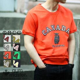 gym master(ジムマスター) G702301-P4 CANADAカレッジ Tee|tシャツ|半袖|メンズ|レディース|ユニセックス|