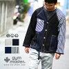 gymmaster(ジムマスター)公式ノーカラーカバーオールジムマスター|カバーオール|ノーカラー|ワーク|メンズ|レディース|ユニセックス|コットン|春|アウター|クレージー|ライトアウター|ヒッコリー|衿なし|デニム|G157605
