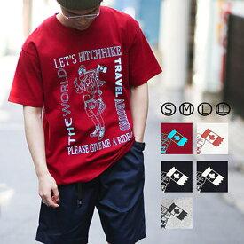 『2nd』掲載!gym master(ジムマスター)公式HITCHHIKE TEEtシャツ|半袖|メンズ|レディース|吸収速乾|防臭|汗じみ|カジュアル|大きいサイズ|ブランド|カラフル|カットソー|綿100%|丸首|短袖|T恤|G233685