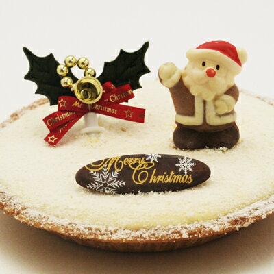 クリスマス仕様!濃厚チーズケーキ「酪(らく)」【クリスマス】【チーズケーキ】【タルト】【クリスマスケーキ】