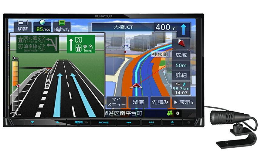 ケンウッド MDV-D304 ワンセグチューナー CD再生 USB SD 7インチ 2DINナビ 【KT】