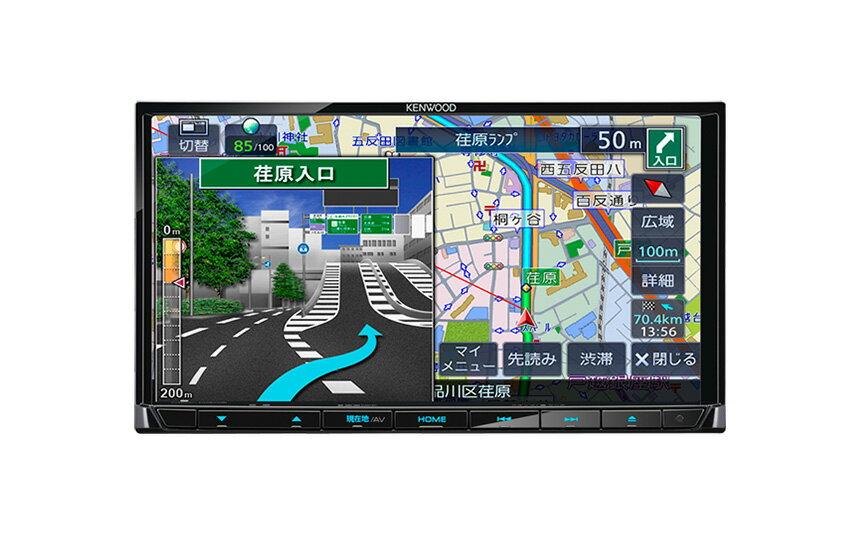 ケンウッド MDV-D305 7型 彩速ナビ ワンセグ CD録音 USB SD 地図更新1年無料 メーカー保証3年 7インチ 2DINナビ ( MDV-D306 従来品 ) ( MDV-L405 MDV-L404 販路違い品 )