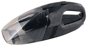 ジョイフル YP280-A カークリーナー60W ブラック 車載用掃除機 12V電源 水洗いできるフィルターバック 車用掃除機 Joyfull YP280A