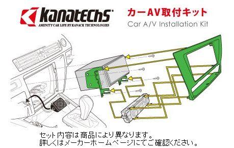 カナック 企画 TBX-T004 車種:アテンザ前期  国産車用カーAVインストレーションセット カナテクス