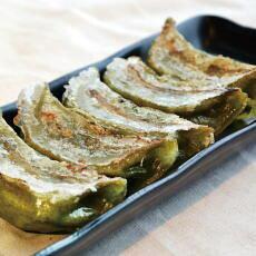【送料無料】ふき餃子と白餃子48個セット