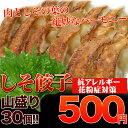 餃子 500円 風味豊か!女性に人気!しそ餃子(にんにく無し)30個入り